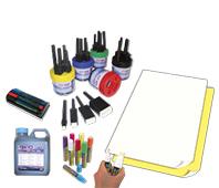 Sign ink & paper
