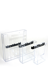 CROWN TRUSS 10x10, Brochure dispenser with fitting