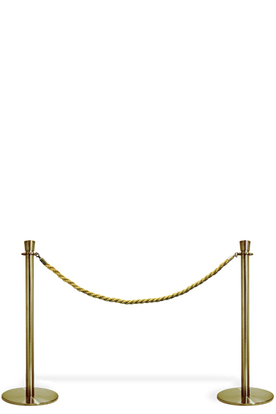 Crowd Control Rope - Gold