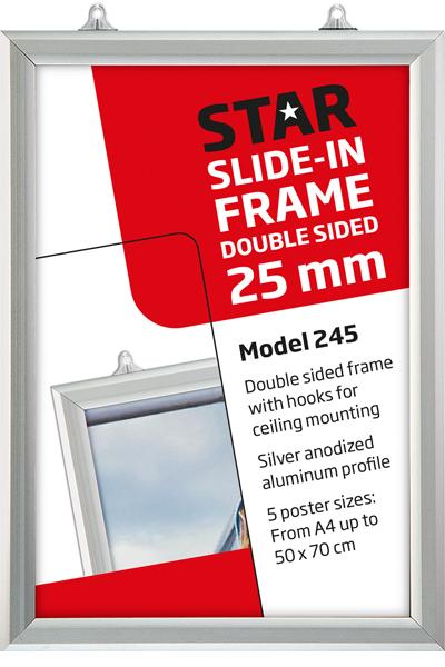 Slide-In Frame 25 mm vertikal