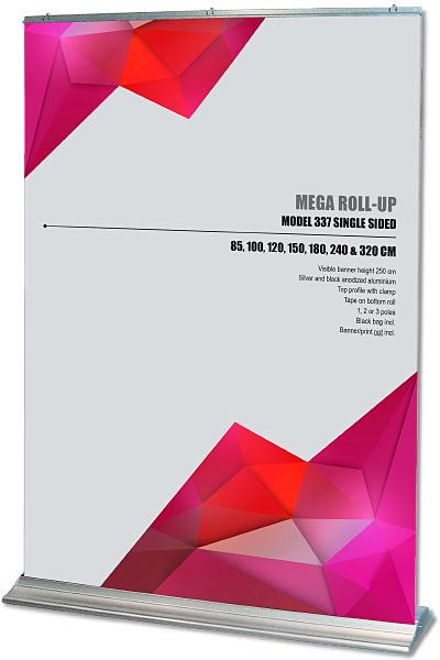 Mega Roll-Up, enkeltsidet