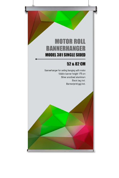 Hanging Motor Roll Banner