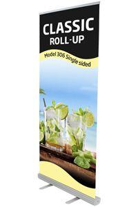 Classic Roll-up, enkeltsidet