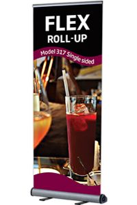 Flex Roll-Up, enkeltsidet