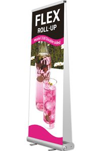 Flex Roll-Up, dobbeltsidet