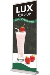 Lux Roll-Up, enkeltsidet