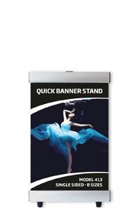 Quick Banner Stand, enkeltsidet