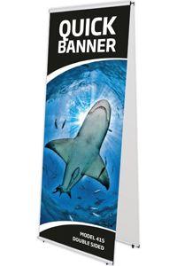 Quick Banner, dobbeltsidet