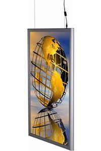 LED Light Box 25 mm, dobbeltsidet