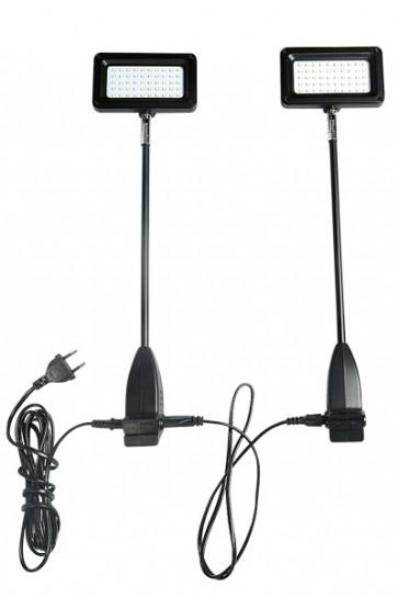 CROWN TRUSS 10x10, LED, 15 watt  Spotlight, incl. holder. 2 pcs. = 1 set