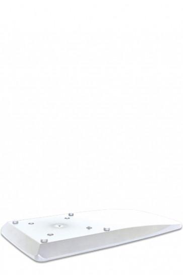 CROWN TRUSS, Side base 19,5x40cm - White