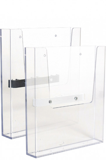 CROWN TRUSS, Brochure dispenser A4 with fitting