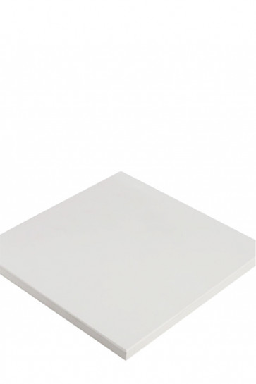CROWN Truss Counter top plate, 65x65cm - White