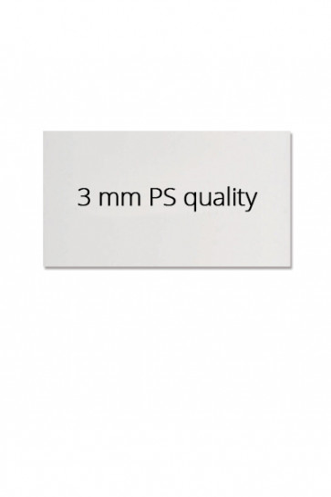 Logo plate 62,5x29,8cm for Estate Sign 65x101cm. PS