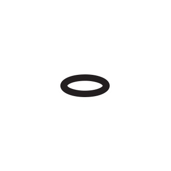 CROWN TRUSS rubber o-ring for wing screw