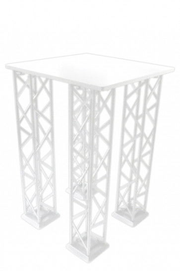 CROWN TRUSS Counter - Square - White
