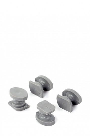 Omni Banner Frame Plastic buttons, 20 pcs. each box