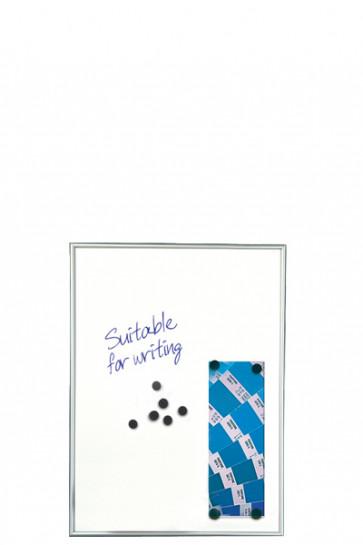 WHITEBOARD Dry-wipe and Magnetic 9mm. 4xA4 Alu