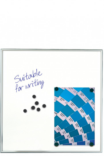 WHITEBOARD Dry-wipe and Magnetic 9mm. 12xA4 Alu