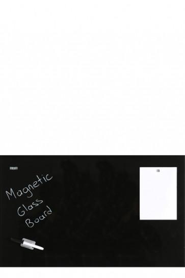 Glass Board Magnetic. Black. 60x120cm