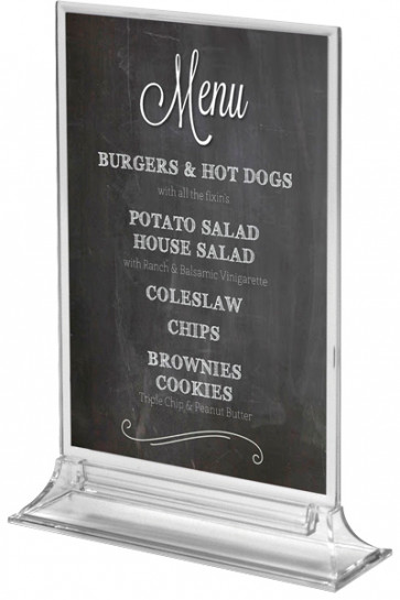 UPRIGHT  MENU HOLDER Vertical A4