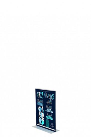 ACRYLIC T-MENU HOLDER Vertical A8