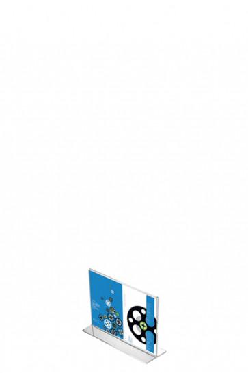 ACRYLIC T-MENU HOLDER Horizontal A7