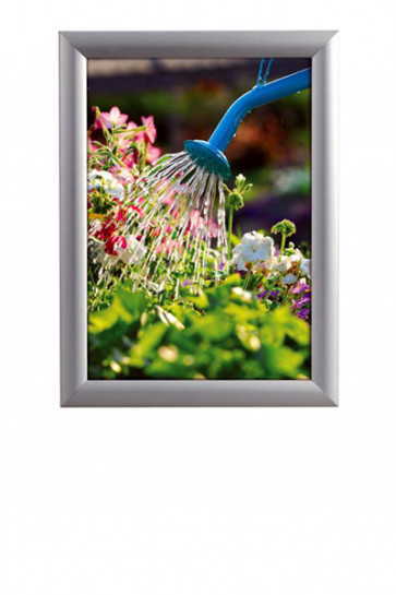 WATERSAFE SNAP FRAME 25mm (M) A4 alu
