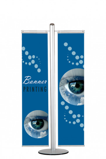 MULTISTAND 17  Double sided with 2 pcs. 40cm banner