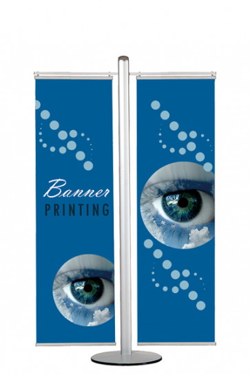 MULTISTAND 17  Double sided with 2 pcs. 50cm banner