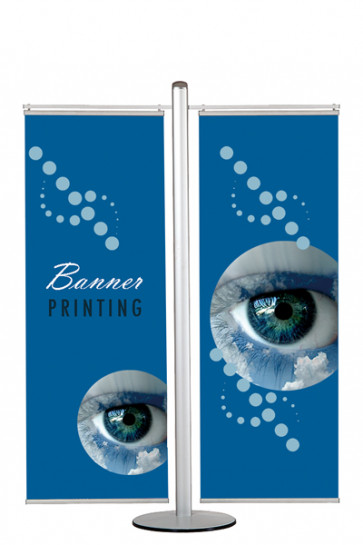 MULTISTAND 17  Double sided with 2 pcs. 60cm banner
