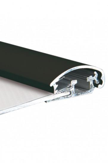ALU SNAP PROFIL 25mm 3mtr - Black RAL 9005