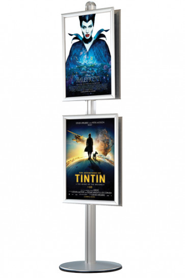 MULTISTAND 12  Double sided 25mm 2 x 60x85 cm Alu
