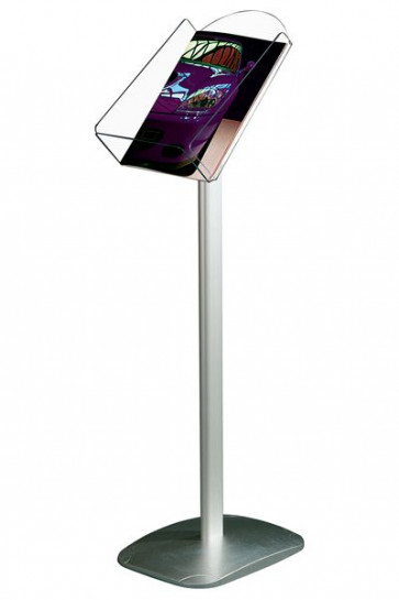 EXPO BROCHURE STAND A4-vertical alu