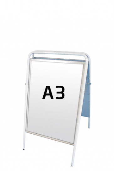 EXPO SIGN Streetsign A3 white