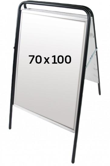 EXPO SIGN streetsign 70x100 black