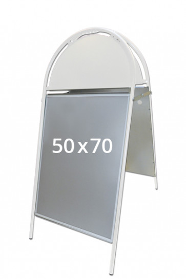 GOTIK Budget pavement board 50x70cm white