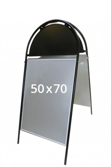 GOTIK Budget pavement board 50x70cm black