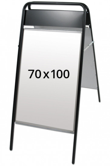 EXPO SIGN pavementboard 22mm 70x100cm TB black