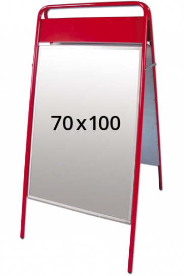 EXPO SIGN pavementboard 22mm 70x100cm TB red