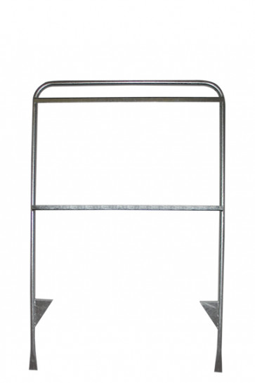 Estate Sign Twin 65x101cm  silver. without panels