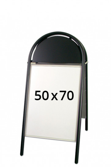 EXPO GOTIK LUX pavementboard 32mm 50x70cm black