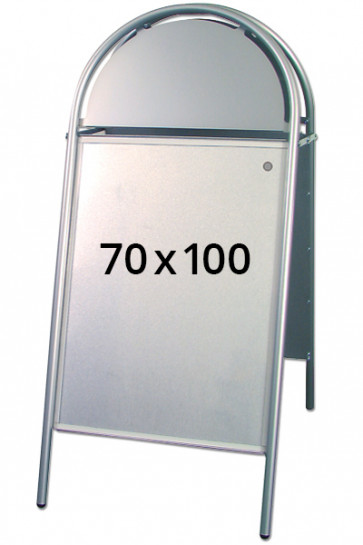 EXPO GOTIK pavement board 25mm 70x100cm silver