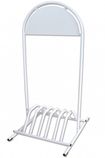 EXPO GOTIK bicycle-stand 25mm, white