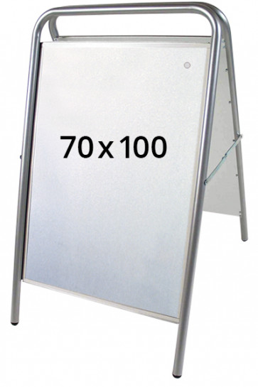 EXPO SIGN LUX pavementboard 70x100cm silver