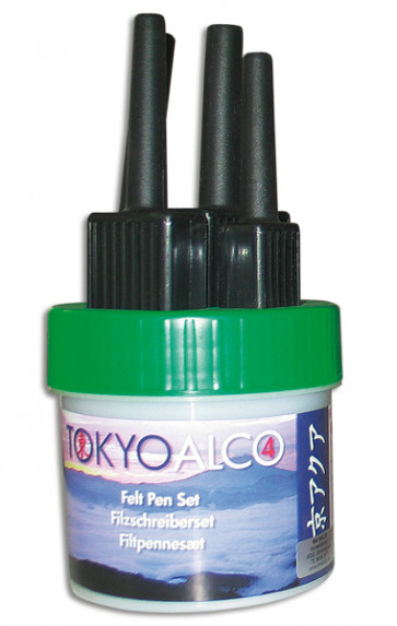 TOKYO ALCO 4 feltpens green
