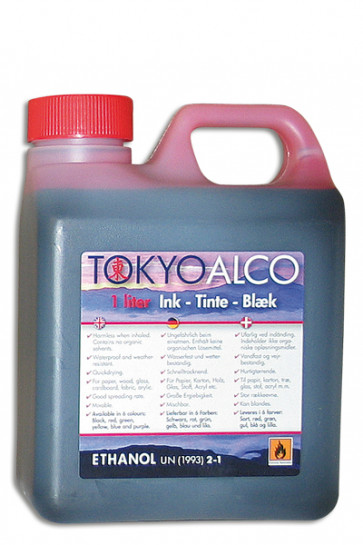 TOKYO ALCO ink red