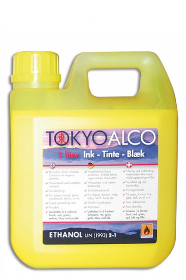 TOKYO ALCO ink yellow