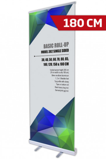 Basic Roll-up, Single Model 180 - alu