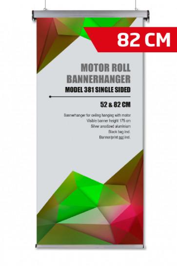 Motor Roll Bannerhanger, Model 82cm - alu